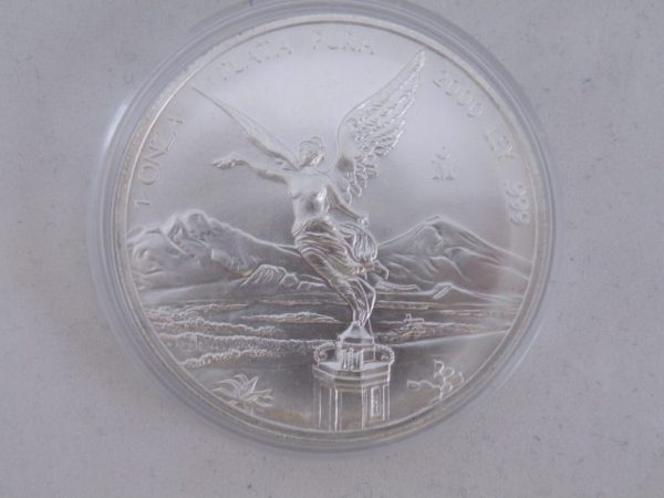 Libertad zilver Mexico 2007