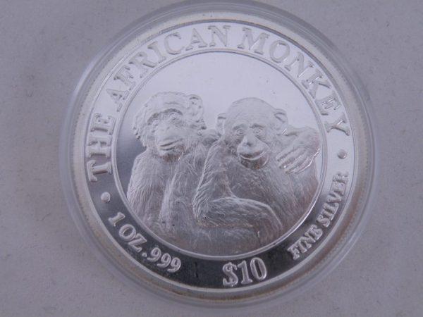 African monkey silver Somalia