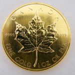 Maple leaf 1986 goud kopen