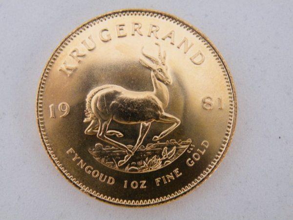 Krugerrand 1981 kopen