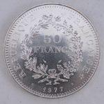 50 Francs zilver Frankrijk
