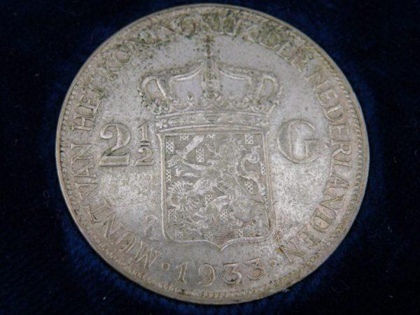 Zilveren rijksdaalder Wilhelmina