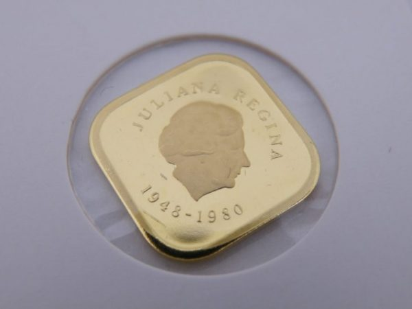 300 gulden gouden munt Nederlandse Antillen