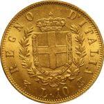 10 Lire Italië gouden munt