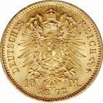 10 mark duitsland gouden munt