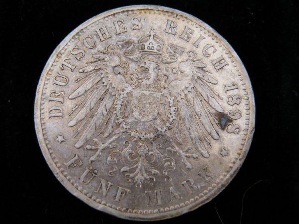5 Mark Duitsland 1898