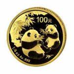 Gouden panda 100 yuan voor 2016