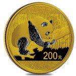Gouden panda 200 yuan 2016