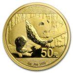 Gouden panda 50 yuan 2016