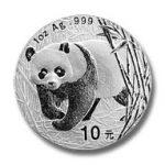 zilveren panda 1 ounce