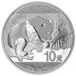 zilveren panda 30 gram