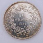 10 francs frankrijk zilver inkoop