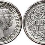 zilveren kwartje wilhelmina