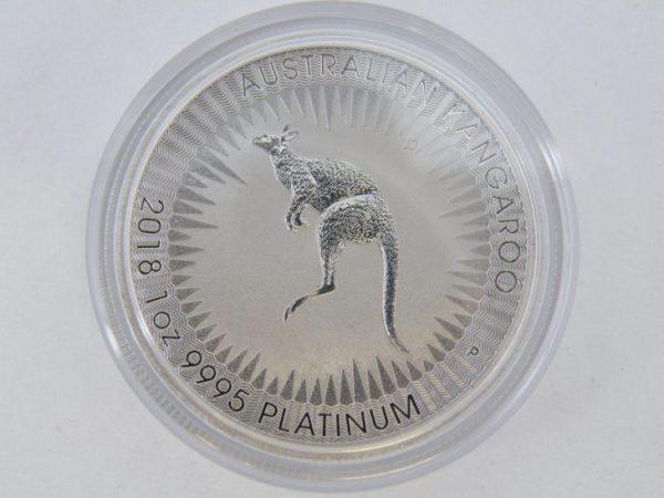 Platina munt 1 ounce Kangaroo