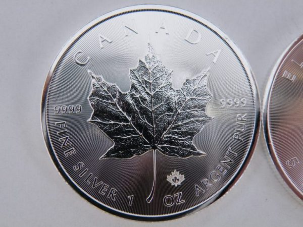 1 Ounce zilveren maple leaf 2018