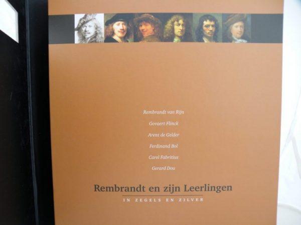 Rembrandt en zijn leerlingen in zilver