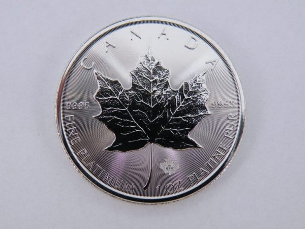 Platina Maple leaf 1 ounce