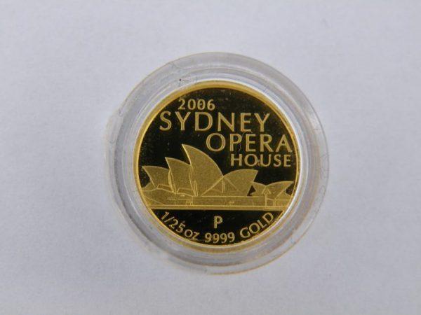 5 Dollar goud Australie Sydney Opera House