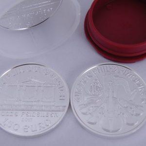 Zilveren 1 ounce Philharmoniker