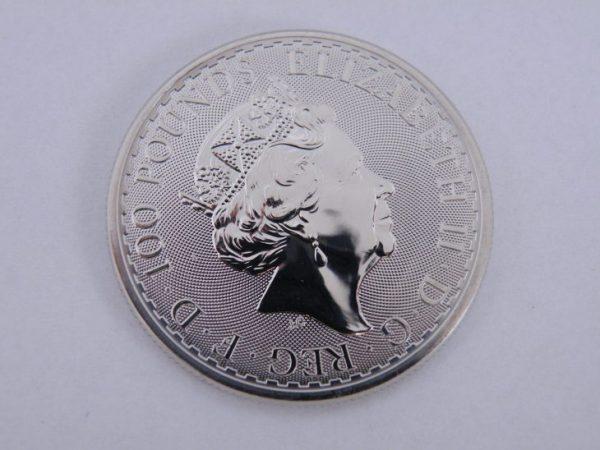 1 Ounce Platina Britannia