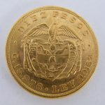 10 Pesos Colombia goud