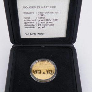 Gouden dukaat 1991