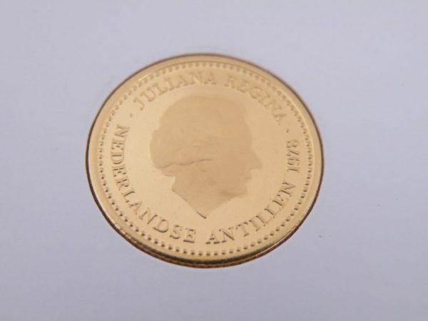 100 gulden Nederlandse Antillen goud