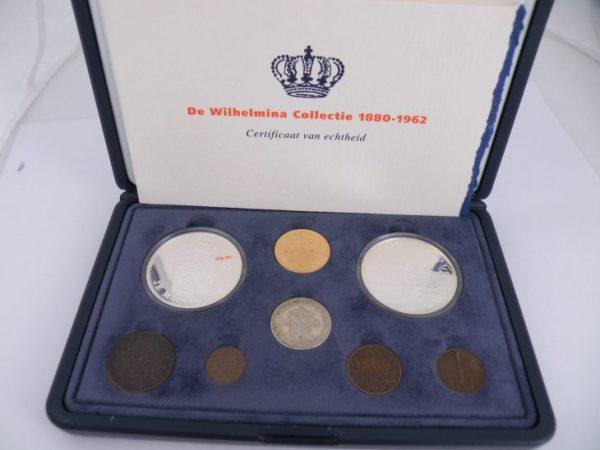Wilhelmina collectie munten