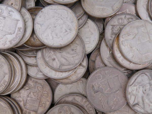 50 Francs zilver België