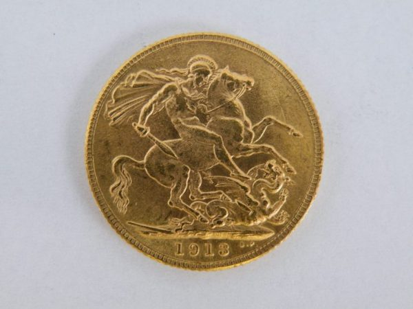 Gouden sovereign 1913