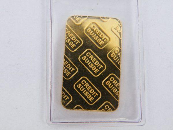 5 gram credit suisse goudbaar