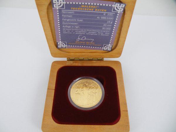 € 100 goud Oostenrijk
