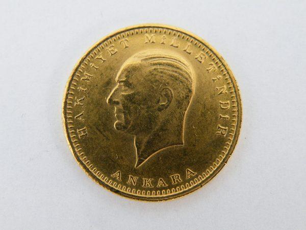 100 Kurush goud Turkije