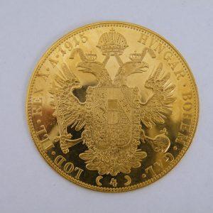 Gouden 4 dukaat Oostenrijk