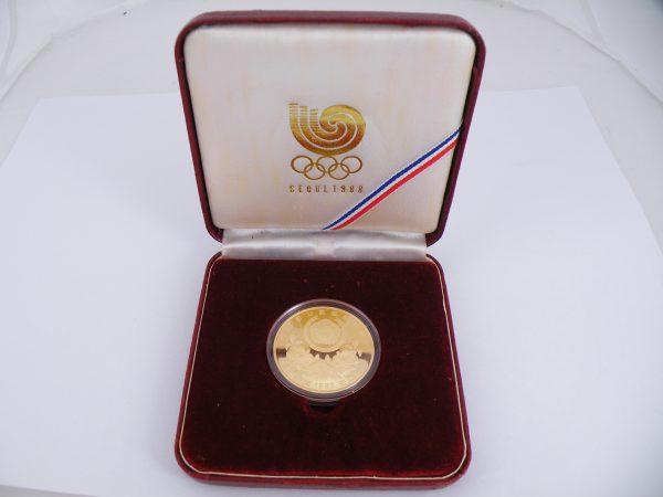 50000 Won gold Seoul 1988