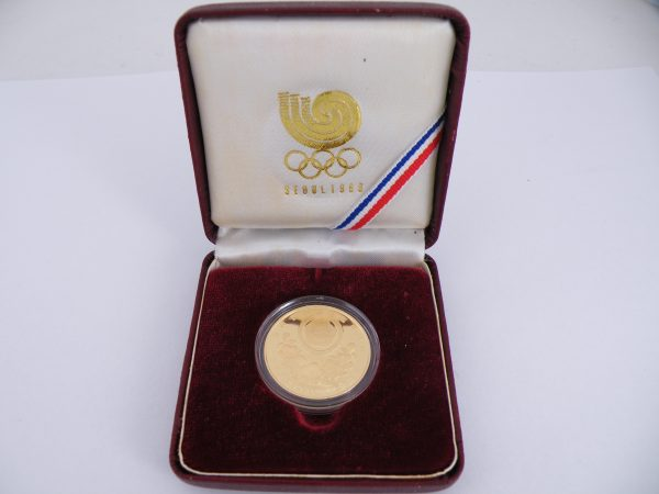 Gold coin 25000 Won Seoul