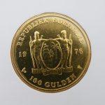 Gouden munt 100 gulden Suriname