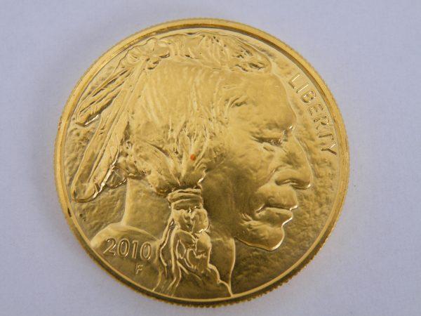Gouden indian head liberty 1 ounce
