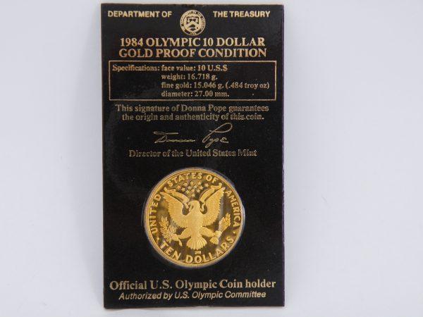 $ 10 gouden munt USA ten dollar