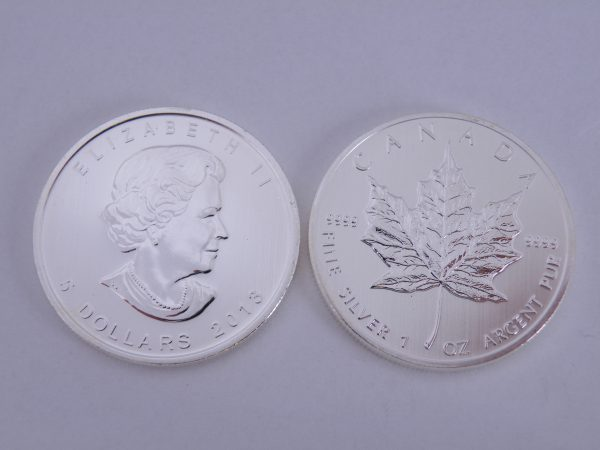 Maple leaf 1 ounce zilver 2013
