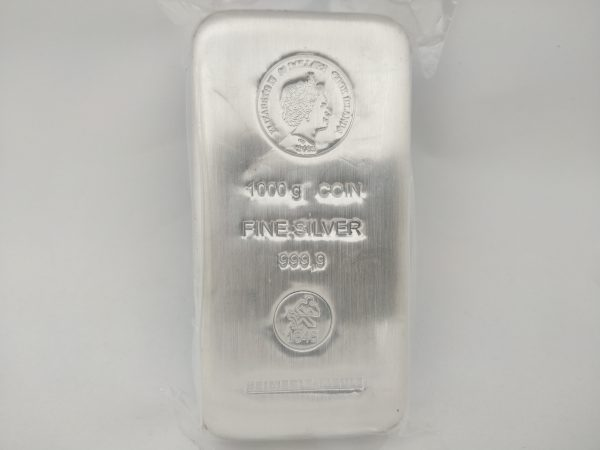 Zilveren muntbaar Cook Islands 1 kilo zilver