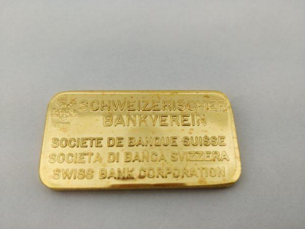 Schöne goudbaar 50 gram Schweizerischer Bankverein