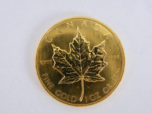 Gouden Maple Leaf 1 oz 1985