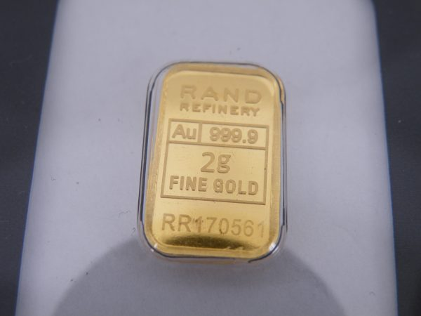 Rand Refinery 2 gram goudbaar