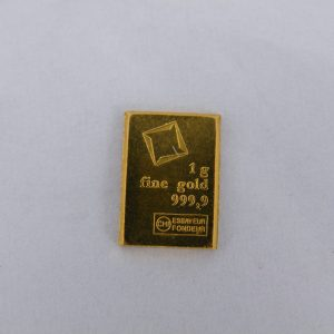 Valcambi Suisse 1 gram goudbaar