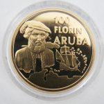 100 Florin goud Aruba