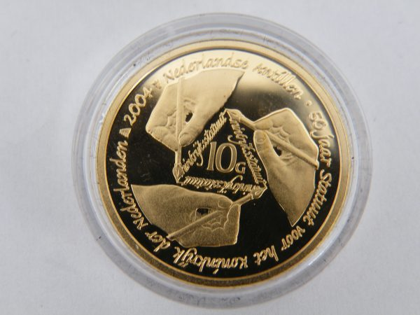 10 gulden goud Nederlandse Antillen 2004