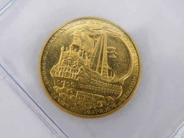 Gouden penning Michiel de Ruyter