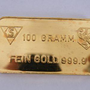 100 gram goudbaar schöne