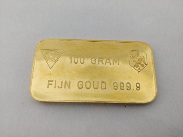 100 gram Schöne goudbaar